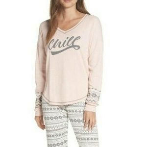 PJ SALVAGE Chill Thermal Pajama Top S
